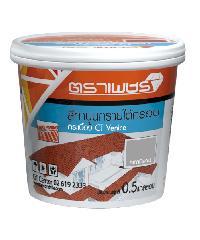 ตราเพชร สีทาปูนทรายCT VENICE 2 กก.น้ำตาลกอนโดร่า เวนิส สีน้ำตาล