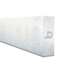 Diamond บล็อคมวลเบา ขนาด 20x60x7.0cm. Diamond Block  สีขาว