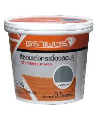 ตราเพชร สีซ่อมแต่ง ก/บ 2.0 ลิตร เทาแพลทินัม จตุลอน สีเทาอ่อน