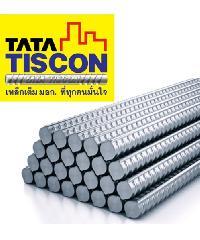 TATA เหล็กข้ออ้อยต้านแผ่นดินไหว 25 มม. ยาว 10 เมตร SD40 Super Ductile สีเทา