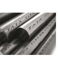 TATA เหล็กเส้นกลม-ตรง 6มม. ยาว 10เมตร. SR24 บกส.  สีเทา