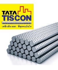 TATA เหล็กข้ออ้อยต้านแผ่นดินไหว-ตรง 25 มม. ยาว 10 เมตร SD40 Super Ductile สีเทา