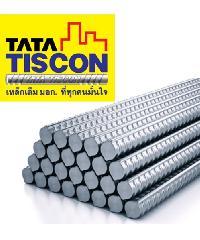 TATA เหล็กข้ออ้อยต้านแผ่นดินไหว-ตรง 16 มม. ยาว 12 เมตร SD40 Super Ductile สีเทา