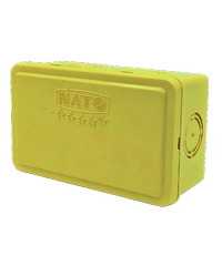 NATO บล็อคกันน้ำ2x4 NT-WPB24Y สีเหลือง