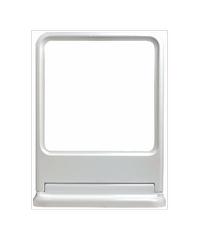 PIXO กระจกเงาแบบเหลี่ยม MS01 ขาว