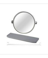 TIGER กระจกชุด3ชิ้นแบบกลม EMS02 ขาว