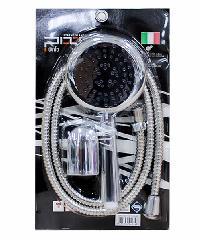 PIXO ชุดฝักบัว หน้าโครเมี่ยม สไตล์อิตาลี่  PS 026 สีโครเมี่ยม