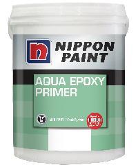 NIPPON นิปปอน อะควา อีพ๊อกซี่ ไพรเมอร์ + ฮาร์ดเดนเนอร์ NP AQUA EPOXY PRIMER (SET) สีขาว
