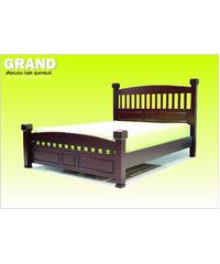 Grown เตียง  GRAND 6ฟุต  สีมะฮอกกานี