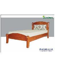Grown เตียงนอน  Canton 3.5ฟุต  สีมะฮอกกานี