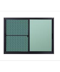 A-Plus หน้าต่างบานเลื่อน ขนาด 150 x 110 cm. SAHARA เทา