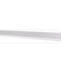 FASTTECH แผ่นชั้นไม้ขอบหยัก WS25120/ขาว ขาว