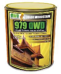 DWD สีย้อมไม้ ชนิดกึ่งเงา 501EX สีไม้สัก (0.946ลิตร) 979DWD