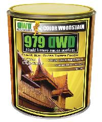 DWD สีย้อมไม้ ชนิดกึ่งเงา 501EX สีไม้สัก (3.785ลิตร) 979DWD