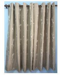 - ผ้าม่านหน้าต่าง ทิวลิป ขนาด 140X150 ซม.  ZFB 23-10  สีน้ำตาล