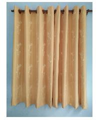 BALEENA ผ้าม่านประตู  ZFB 23-3 ทิวลิป-ทอง (140x220ซม.)