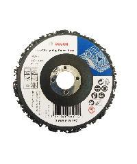BOSCH ใบขัดลอกสี/สนิม 4 100x16mm Strip Disc #287  สีดำ