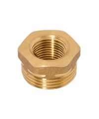 DUSS อุปกรณ์ลดเหลี่ยมทองเหลือง 1x1/2  M7 M7 ทองเหลือง