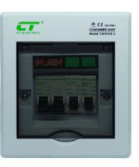 CT ตู้คอนซูเมอร์สำเร็จ  CHONG-C2/2ช่อง 50A สีขาว