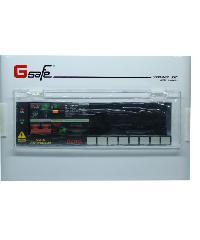 Gsafe ตู้คอนซูเมอร์-เมนเบรกเกอร์กันดูด G safe-R8/8ช่อง 63A กันดูด G safe-R8/8ช่อง RCBO 63A สีขาว