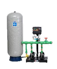 SUMOTO ปั๊มน้ำอัตโนมัติคู่ ชุดBOOSTER 3.0Hp.220 โวล์ท ถัง 300L. SP-MAXI BOOSTP804300