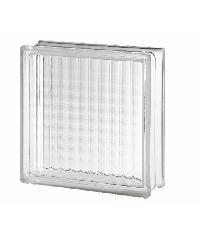 ช้างแก้ว บล็อกแก้วใส จัตุรัสแก้ว (300x300x100mm. ) I-002/04 A.
