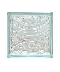 ช้างแก้ว บล็อกแก้วใส เพชรธารา 240 x 240 x 80 มม  C-001/11 CK Worth
