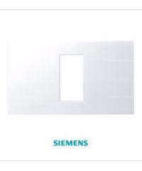 SIEMENS ฝา 1ช่อง DELTA azio ขนาด 120 มม. สีขาว  5TG9 860-5PB01  ขาว