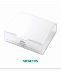 SIEMENS ฝากันน้ำสำหรับเต้ารับ DELTA azioขนาด 120 มม. สีขาว 5TG9 862-5PB01 ขาว