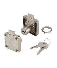 HAFELE กุญแจลิ้นชักล็อคข้าง(ล็อคขวา) 482.01.124