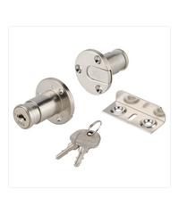 HAFELE กุญแจล็อคบานทับขอบ 482.01.125 นิกเกิ้ล