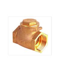 ANA เช็ควาล์วสวิง 4 นิ้ว ก5E111-0-100-100-5-B ทองเหลือง