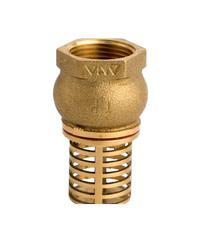 ANA ฟุตวาล์ว 1.1/4 นิ้ว ก5F121-0-032-000-5-B ทองเหลือง