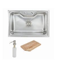 HAFELE อ่างล้างจาน 1 หลุมไม่มีที่พัก 495.39.308