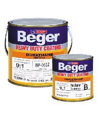 Beger สีทาทับหน้าภายนอก BP-0515 ดูราเทน (Aluminium) ชุด กล. BP-0515