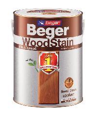 Beger สีย้อมไม้ชนิดกึ่งเงา วูดสเตน S-2902 (PREMIUM TEAK/สีไม้สักห้าดาว) กล. S-2902 (PREMIUM TEAK/สีไม้สักห้าดาว)