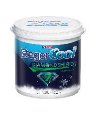 Beger สีน้ำอะครีลิคเบเยอร์คูล ไดมอนด์ชิลด์ 7 ปี ภายใน เบส D ถัง สีขาว