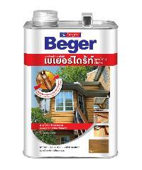 Beger ผลิตภัณฑ์รักษาเนื้อไม้  สูตรน้ำมัน สีใส1.5 Litre