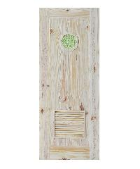 D2D ประตูไม้สนนิวซีแลนด์  90 x 200 cm. Eco Pine-33