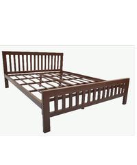 MAGIC TIME เตียงเหล็ก5 ฟุต. PY901 Dream Bed  5 F น้ำตาล