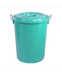 นำง่ายฮง ถังน้ำพร้อมฝา 55 กล.  รุ่น 329-A  COPO  สีเขียว  No.329-A COPO  Green เขียว