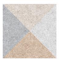 Cergres 16x16 เอสคามัส มิกซ์ คัลเลอร์ แม็ท (6P)  A. สีเทา