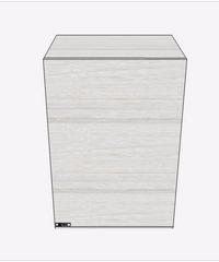MJ ตู้แขวนเสริม  SAV-WS604-W ขาว