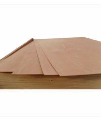 ตราบ้าน ไม้อัดยาง หนา  3 มม. ขนาด 4*8 ฟุต 3 mm.MDF ธรรมชาติ