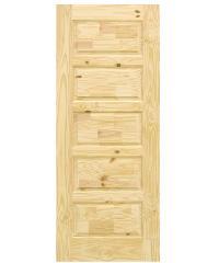 D2D ประตูไม้สนนิวซีแลนด์ ขนาด 80x200 ซม. Eco Pine-022