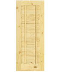 D2D ประตูไม้สนนิวซีแลนด์ ขนาด 80x180 cm.  Eco Pine-Ezero6