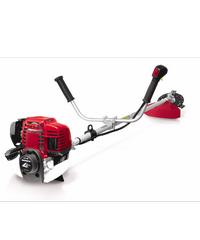 HONDA เครื่องตัดหญ้าสะพายบ่า(จานกลม) 4 จังหวะ  UMK435T UMTT  **แถม ถุงมือเคลือบบิวทิลไนไตรล์ ZBST006 สีดำ** สีแดง
