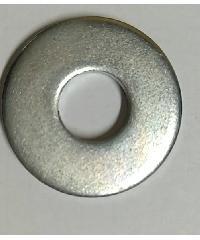 uheng แหวนอีแปะ ชุบขาว1/4 นิ้ว