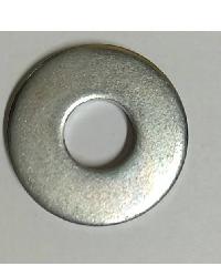 uheng แหวนอีแปะ ชุบขาว 5/8 นิ้ว