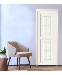 Wellingtan ประตู ABS 80X3.5X200cm ABS-A8 สีขาว